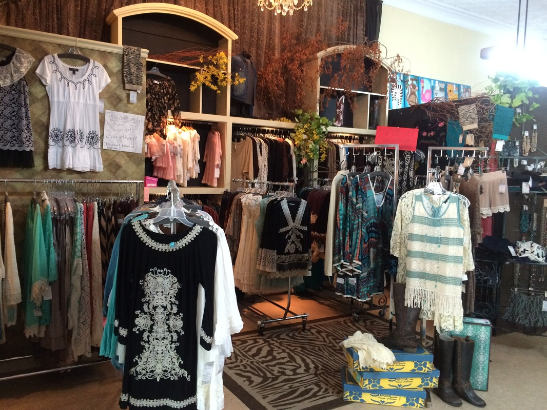 Emporium Clothing Booth