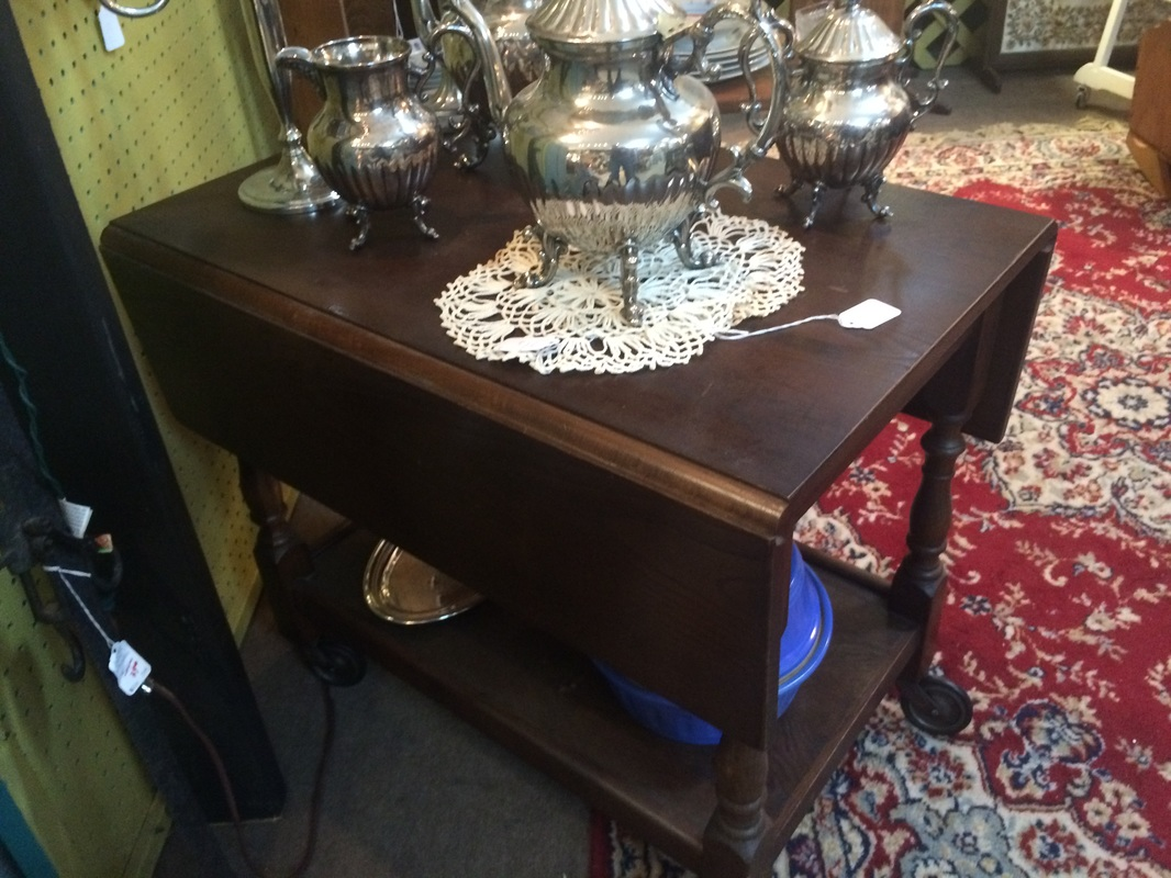 Vintage Furniture Tea Cart