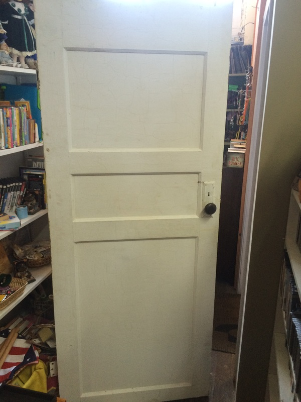 Antique 3 Panel Door